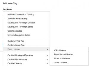 Event Listener Google Tag Manager